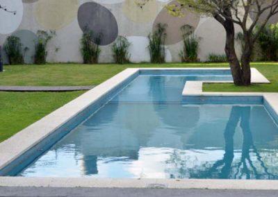 Aanleg zwembad Tsjoen Oudenaarde